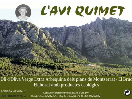 L'Avi Quimet – Olive oil