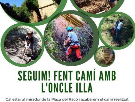 Voluntariat ambiental al torrent de l'Illa